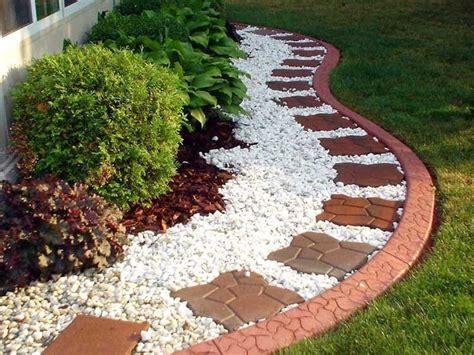 brick edging for flower beds back yard landscape 6 excellent concrete flower bed