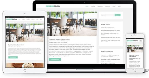 shaped blog responsive personal wordpress blog theme