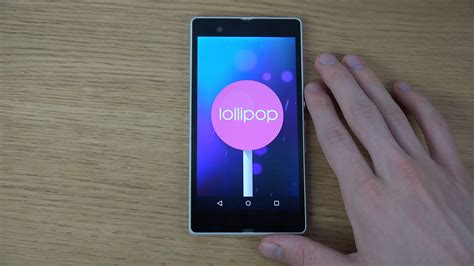 Hp Sony Xperia Android Lollipop sony xperia z android 5 0 lollipop review 4k