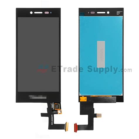 Lcd Bb blackberry leap lcd screen and digitizer assembly black etrade supply