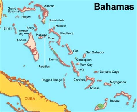 bahamas on map map of the bahamas for real estate