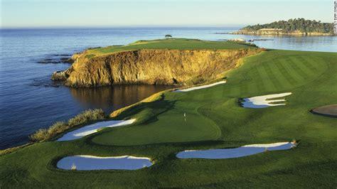 pebble beach 10 courses every golfer should play cnn com