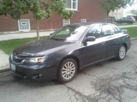 used 2008 subaru impreza 2 5i buy used 2008 subaru impreza 2 5i sedan 4 door 2 5l in