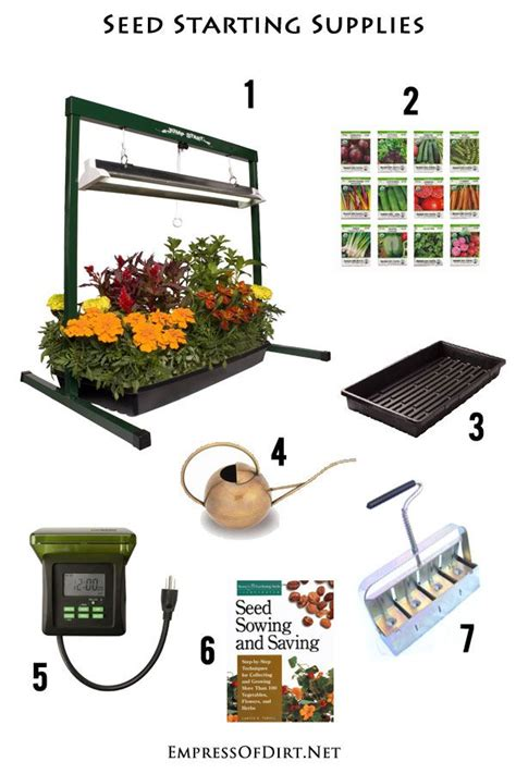 cost indoor seed starting supplies seed