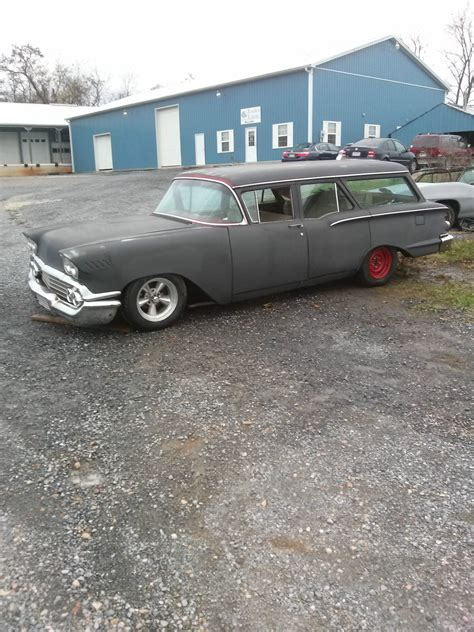nomad car for sale 1958 chevrolet nomad wagon project for sale