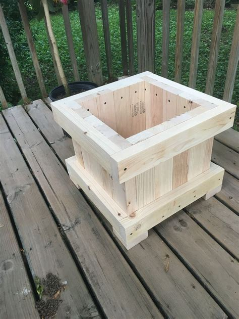 planter woodworking plans  ideas   wood