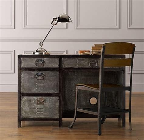 restoration hardware desk l vintage lockers desks and lockers on pinterest