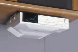 Kitchen Cd Radio Under Cabinet Under Cabinet Cd Player Stereo Clock Radio