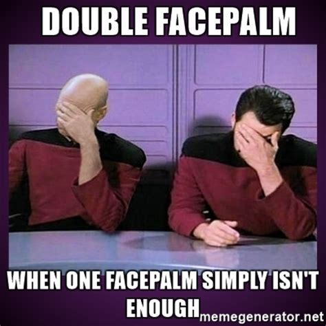 double facepalm meme generator