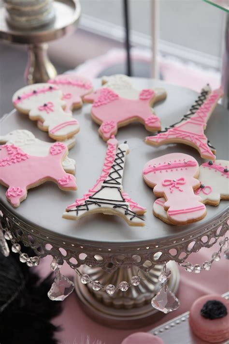 themes in girl online pink paris themed baby shower with so many really cute