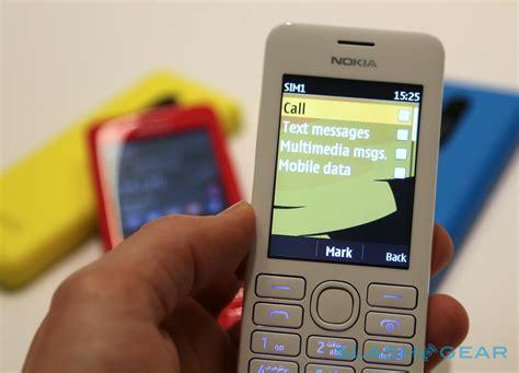 nokia asha 206 themes onsmartphone nokia asha 205 quot facebook phone quot and 62 206 hands on