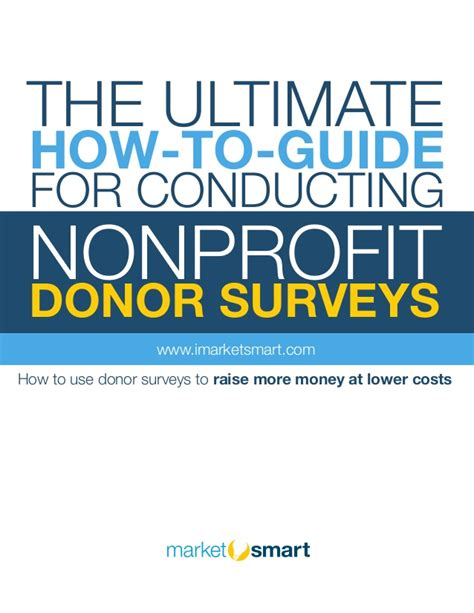 stock trading the ultimate guide on how to the ultimate how to guide for conducting nonprofit donor
