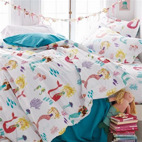 Mermaid Magic Kids Sheets Bedding Set Company Kids Mermaid Bedding Set