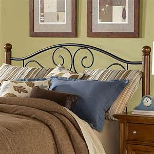 King Metal Headboard Wood And Metal Beds King California King Doral Headboard By Fashion Bed Wolf Furniture