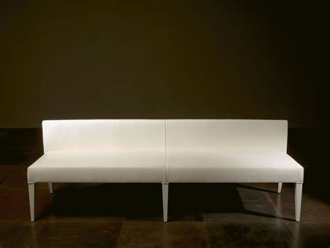 white leather dining bench nella vetrina rugiano queen 5015 dining bench chair white