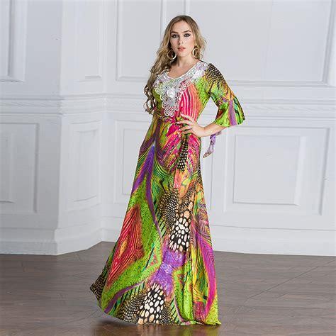 Longdress Kaftan Lace clothing maxi tunic lace embroidery dress abaya kaftan caftan muslim islamic moroccan