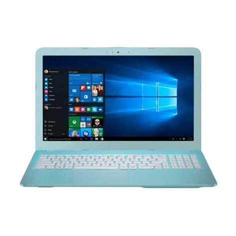 Asus X441na Bx003t Intel N3350 2gb 500gb 14 Win10 Mcafee jual asus x441na bx005d notebook dualcore n3350 2gb 500gb intelhd 14 quot dos harga