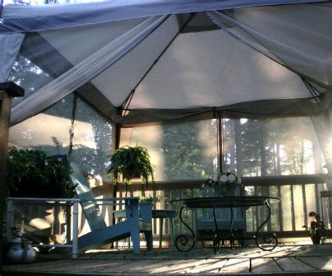 tent deck deck makeover a covered porch room for dining and