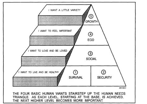 Figure 6 4 Basic Human Wants And Needs