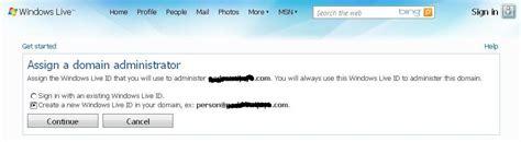 membuat email dengan domain sendiri di windows live membuat email domain sendiri dengan layanan quot windows live