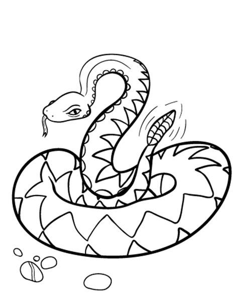 rattlesnake coloring page free rattlesnake coloring page