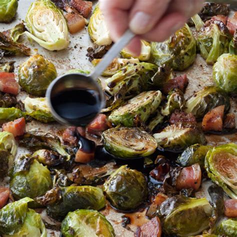 ina garten brussel sprouts pancetta balsamic roasted brussels sprouts recipes barefoot contessa