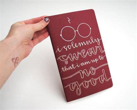 harry potter gryffindor ruled notebook books harry potter inspired notebook modern calligraphy