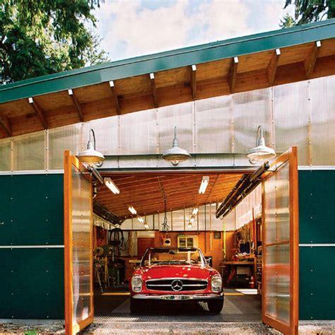Sunset Garage by Eco Savvy Garage Sunset