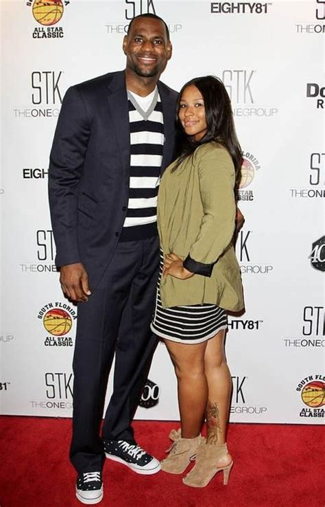 lebron james wife biography nba star lebron james and longtime girlfriend savannah