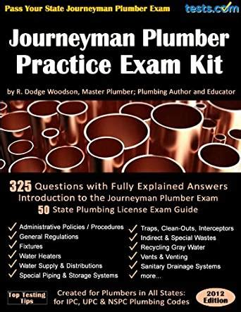 Journeyman Plumbing Test by Journeyman Plumber Practice Kit Kindle Edition By R