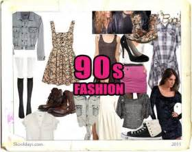 Fashion in the 90s
