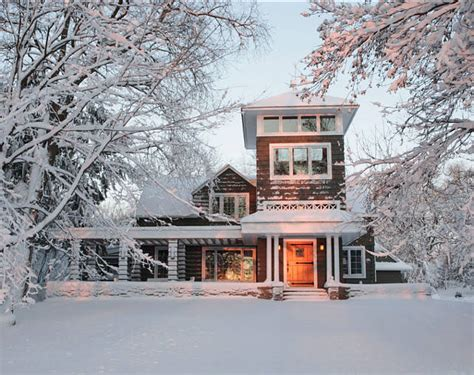 winter homes prepping your home for winter weather