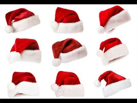 How To Make A Santa Hat Out Of Paper - how to make a santa hat santa hat diy