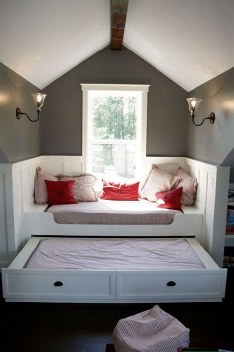 Attic Bunk Room Ideas - this for the bunk room when i a home to