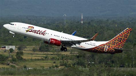 batik air jakarta surabaya turbulence injures 4 on the batik b739 flight to jakarta
