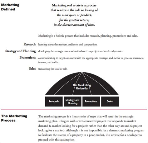 real estate marketing plan template real estate marketing plan template 6 free pdf