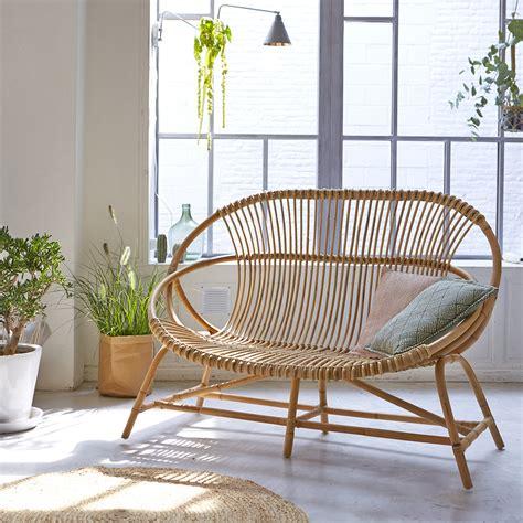 Wicker Armchair Outdoor by Tikamoon Leontie Rattan Outdoor Armchair