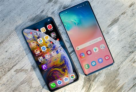 samsung galaxy s10 plus vs iphone xs max spec comparison digital trends