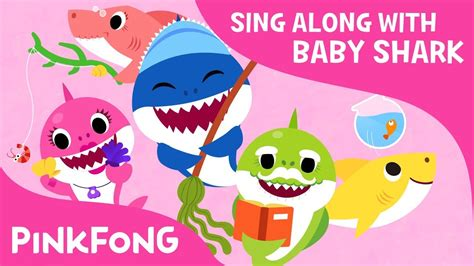 baby shark family the shark family sing along with baby shark pinkfong