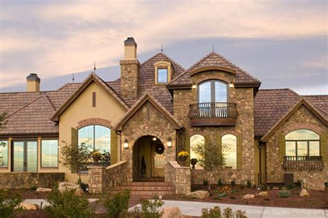 Unique European House Plans by European Style House Plans For A Unique 1 Story Luxury Home