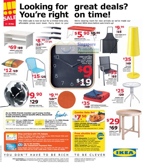 upcoming ikea sales ikea furniture household sale 3 20 mar 2011