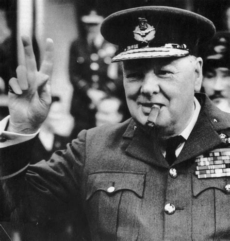 Press Big V For Victory by In Time 1965 News Winston Churchill Dies At