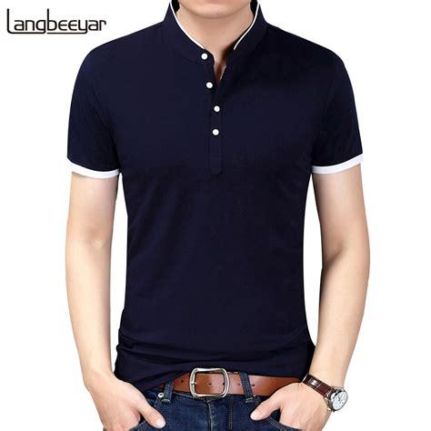 fit sleeve t shirt 2018 summer new fashion brand clothing tshirt solid