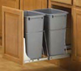 In Cabinet Trash Cans For The Kitchen Kitchen Cabinet Trash Can Kitchen Design Photos