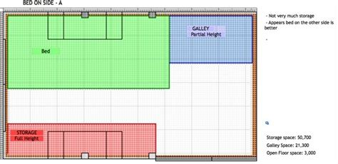 conversion van floor plans cheap rv living com floor plans and bed design for van