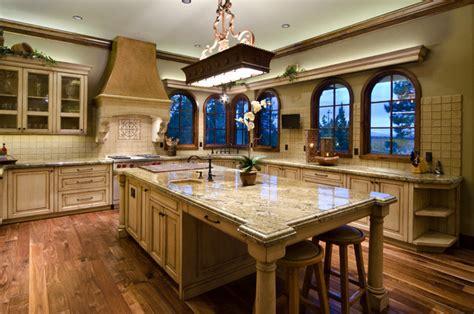 Granite Kitchen Island With Seating tuscan in the pines mediterranean kitchen portland