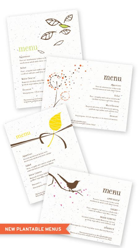 don t save anything uncollected essays articles and profiles books new plantable save the date and menu cards