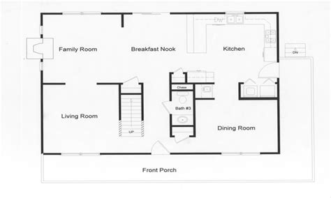 floor plans with large kitchens log modular home floor plans modular open floor plan large
