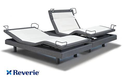 reverie adjustable bed reverie 8q adjustable bed base split king in home delivery