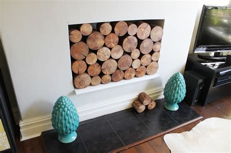 Decorative Wood Logs For Fireplace by I So Wood Part Ii Decorative Logs At Last Swoon Worthy